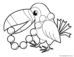 Small Picture Toucan 01 Coloring Page Coloring Page Central