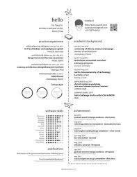 Software For Resume Design From 136 Best Creative Cv Images On