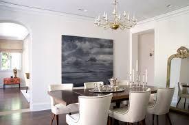 transitional dining room by studio william hefner