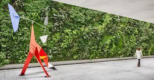 green walls how technology brings