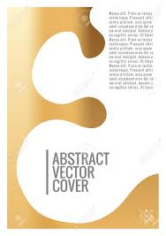 Book Report Poster Template Gold Cover Design Template Notebook Exotic Layout Backdrop