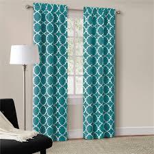 bedroom teal blackout bedroom curtains light blue patterned coloured chevron c ds long sheer ivory