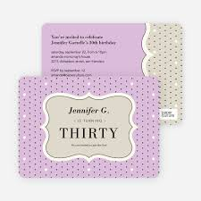 Polka Dot Invitations Polka Dot Birthday