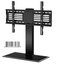 FITUEYES Universal Table Top TV Stand For 32 To 65 Inch TT105001GB Black Tv Stand 34