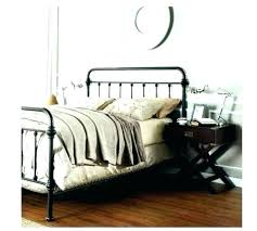 Wrought Iron Bed Frames Queen Size Antique Black Metal Frame King ...