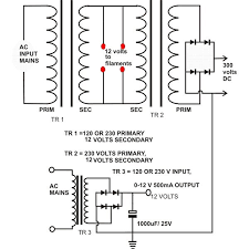 why buy a single ended tube amplifier when you can build one single ended tube amplifier power supply circuit diagram image
