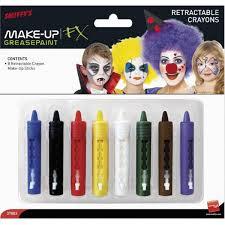 smiffys retractable face paint crayon sticks