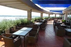 Top Floor Outdoor Area and Seating Picture of Mekong My Tho Hotel