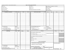 Amazing Best Photos Of Daily Work Report Template Free Daily