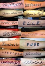 шрифты для татуировок фотоальбомы