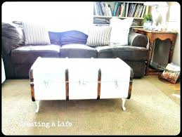 trunks as coffee tables old trunks as coffee tables luggage trunk coffee table aluminum wood storage trunks as coffee tables