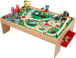 childrens wooden activity table