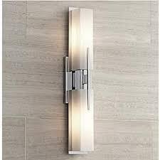 possini euro design midtown 23 12 high chrome bath light bathroom contemporary lighting