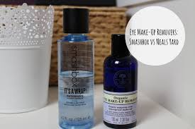 neal s yard remes organic eye make up remover now this is probably a bit of a spoiler to point this out but in case
