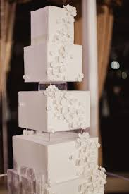Cakes Desserts Photos Modern Wedding Cake With Square Tiers