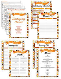 Thanksgiving Grocery List Template Thanksgiving Planner Thanksgiving Menu Meal Planner Planning Checklist Grocery List Guest List Entertaining Checklist Recipes