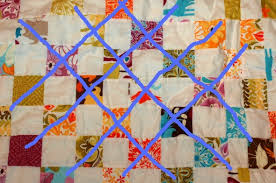 How I Straight Line Quilt & quilt with lines drawn on2 Adamdwight.com