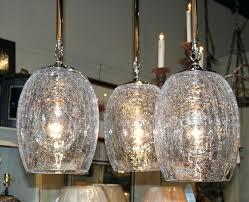 large glass globe pendant light