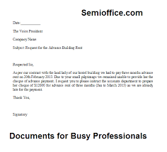 payment request letter to client request letter for the advance payment