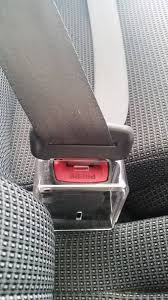 seatbelt buckle cover on buckle 1