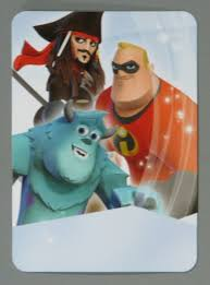 Video game accessory | card:Disney Infinity Starter Set Card: Sulley ...