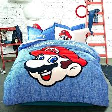 interior super mario bros bedding set brothers retro creative qualified 2 mario brothers bedding