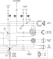 jeep my headlight tail light wiring diagram light switch graphic