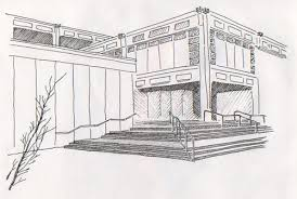 architecture building drawing. Plain Building Architecture Drawing Inside N