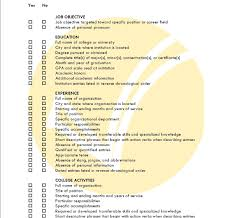 Resume Checklist Old Fashioned Employer Resume Checklist Component Documentation 20