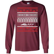 Awesome Shirt for ugly christmas sweaters don't be tachy - 99promocode