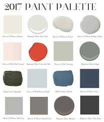 interior paint colors for 2017My Favorite Paint Colors for 2017  Elements of Style Blog