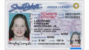 Id Cards South Dakota Tweaks Driver's License And
