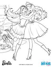 Gardenia Diamonds Made The Kingdon Magical Barbie Coloring Page ...