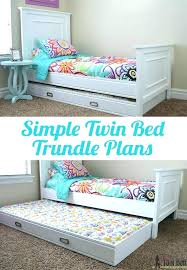 twin platform bed with trundle. Platform Bed With Trundle Symmetric  Twin Canopy . O
