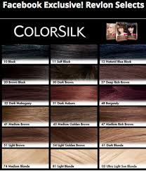 Revlon Professional Hair Colour Chart Revlon Hair Color Shades Chart Google Search In 2019