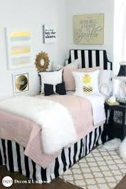 white and black bed sheets. Perfect White Pink And Black Bed Set Blush Gold Fur Designer Dorm Bedding Light    Intended White And Black Bed Sheets