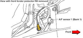 2005 2012 nissan xterra air fuel ratio and o2 sensor location 2005 2012 nissan xterra air fuel ratio and o2 sensor location