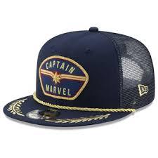 <b>Captain Marvel Hats</b>, Captain Marvel Snapbacks, Caps & Dad Hats ...