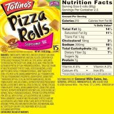 11 best photos of pizza food label totino s pizza rolls within with pizza rolls food