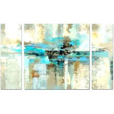 wall art set of 3 three decor morning fjord piece multi panel a liked on metal