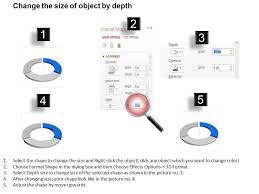 Chart Dk Dk Three Staged Circle Chart With Icons Powerpoint Template