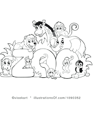 Coloring Pages Of Zoo Animals For Preschool Drfaullcom