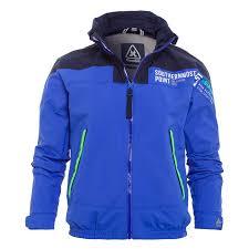 design gaastra royal blue men jacket hockle crew