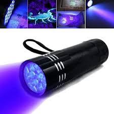 led uv black light torch ultra violet