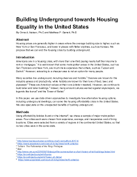Pdf Building Toward Housing Equality In The United States