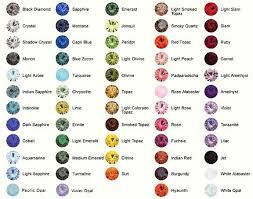 Image Result For Swarovski Rivoli Color Chart Semi