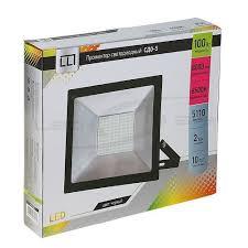 Купить <b>Прожектор</b> сд <b>СДО</b>-5-<b>100 100W</b> 230V 6500К 8000Lm IP65 ...