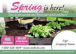 Sample Flyers For Landscaping Business Proven Landscape And Lawn Care Marketing Postcardmania