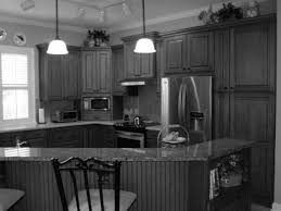 kitchens with black distressed cabinets. Amazing Picture Of Chalk Paint Cabinets With Distressed Kitchen Black Wood Pa Full Size Kitchens H