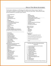 Resume Skills And Abilities Samples resume Resume Skill List Janitor Retail Skills And Abilities 55